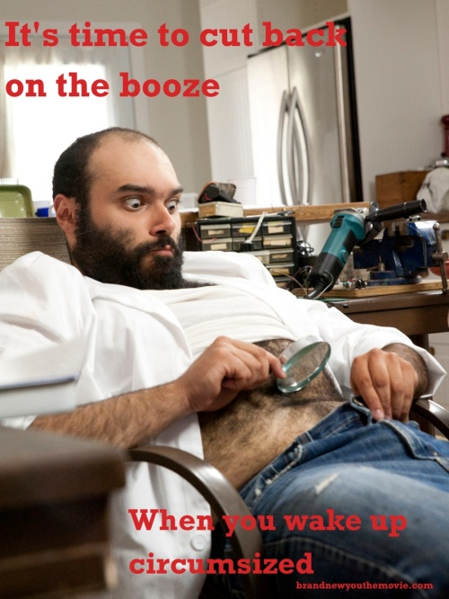 Murray Meme: Don't Drink & Circumsize